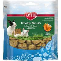 Kaytee Baked Carrot Timothy Biscuits 4 oz. I012609