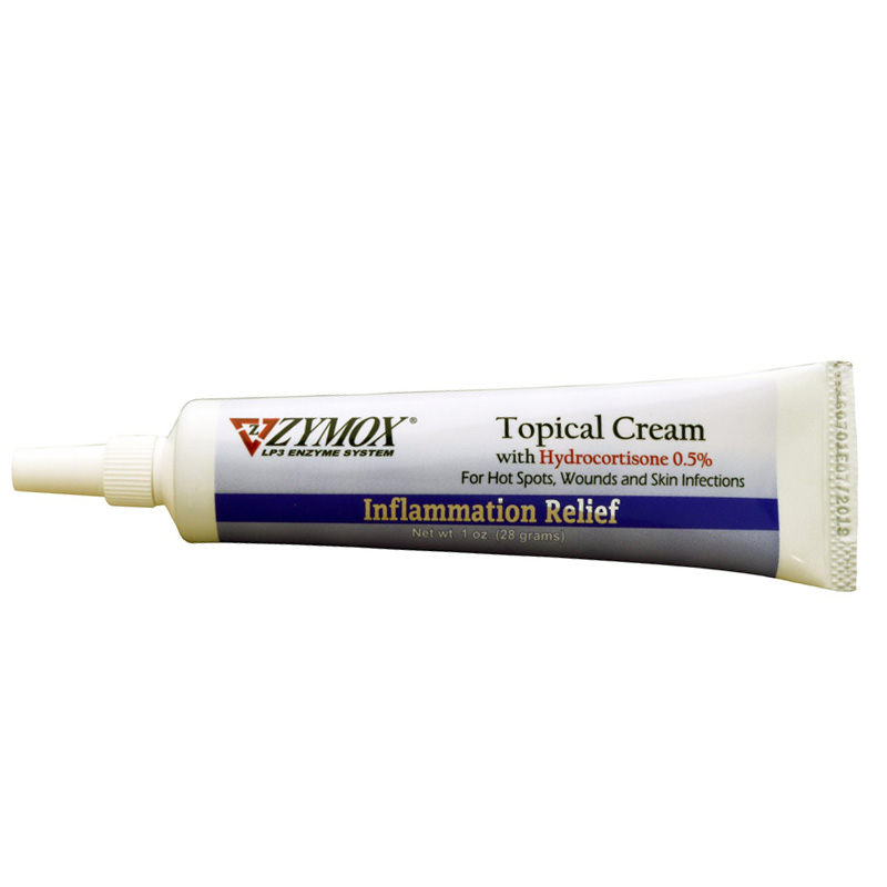 Zymox Topical Cream with Hydrocortisone 10 oz  I012691