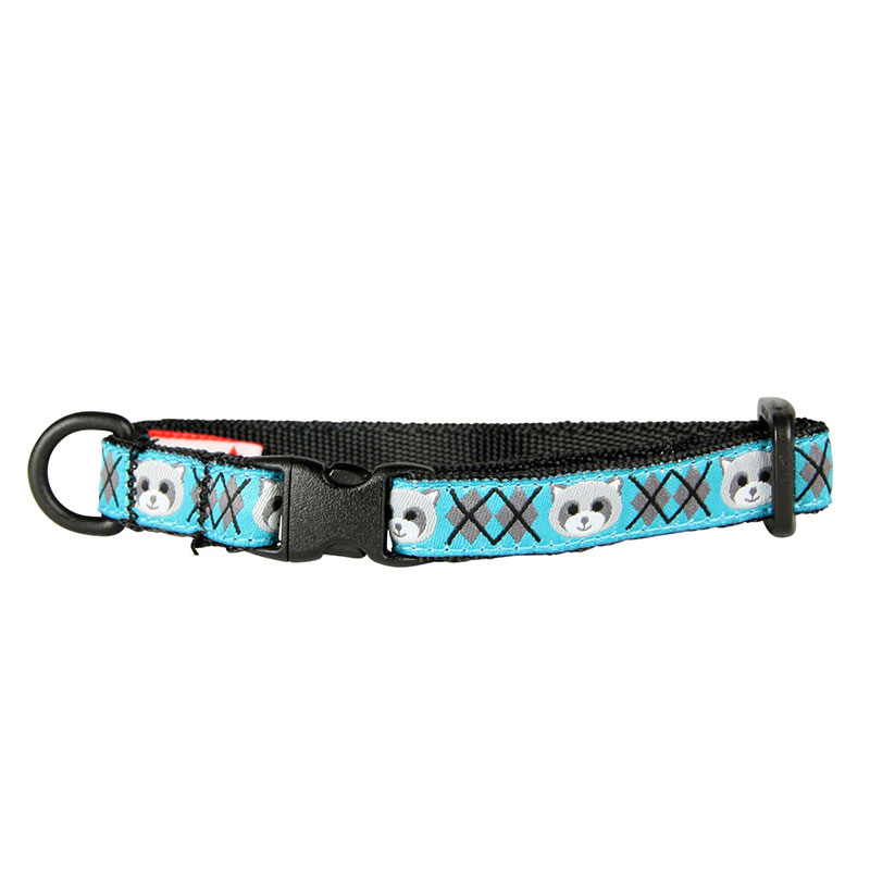 "Breakaway Cat Collar Raccoon Kitty Collar 1/2""x8-10"" I012727"