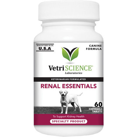 VetriScience® Renal Essentials Chewable Tablets 60 ct. I012731