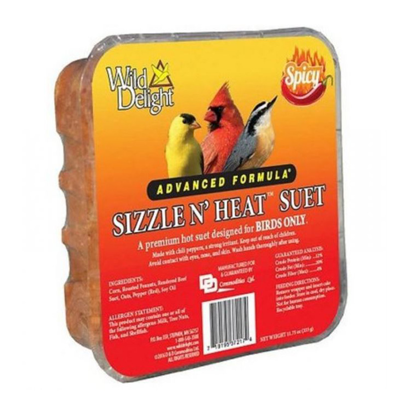Wild Delight Sizzle N' Heat Advanced Formula Suet  I012739