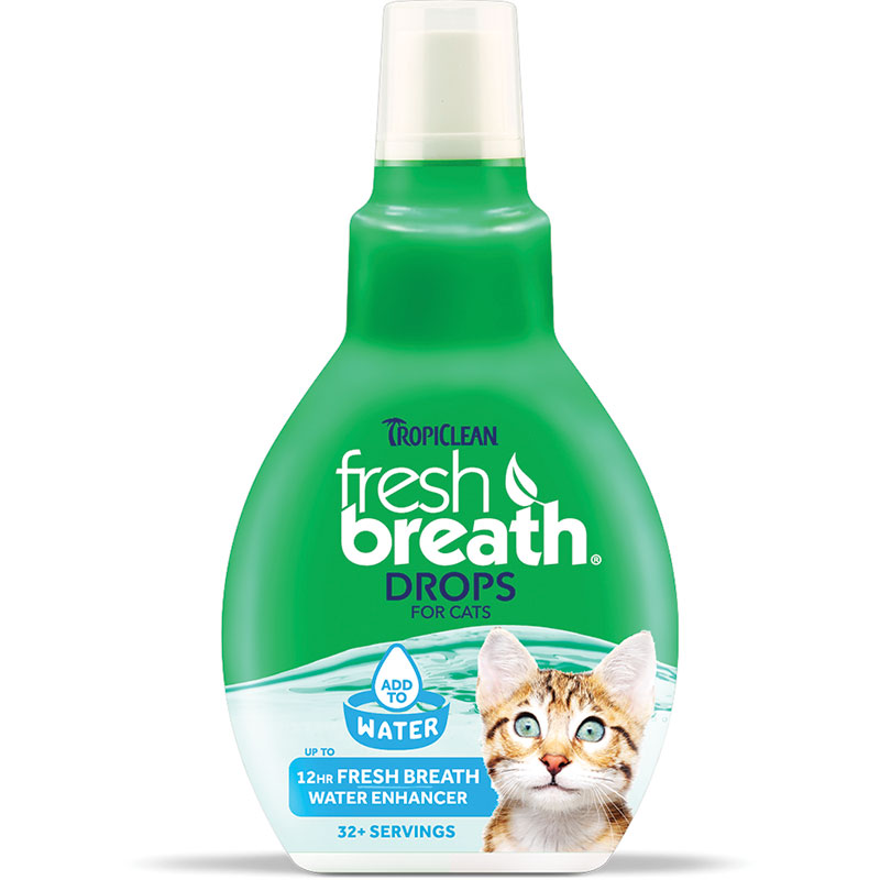 Tropiclean® Fresh Breath® Drops for Cats 1.7 oz. I012754
