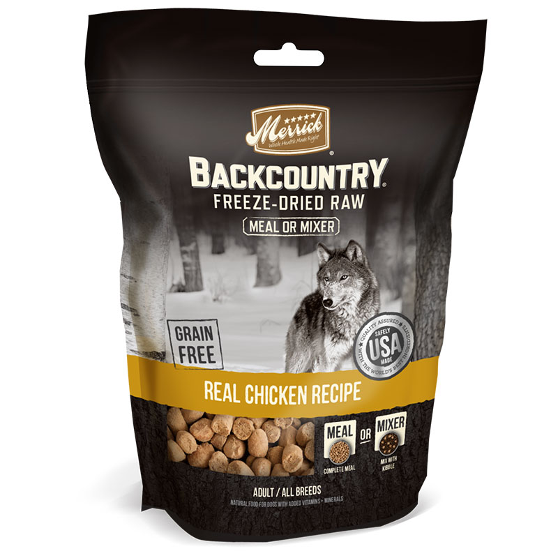 Merrick Back Country Freeze Dried Chicken Dog Treats 3.5oz I012850