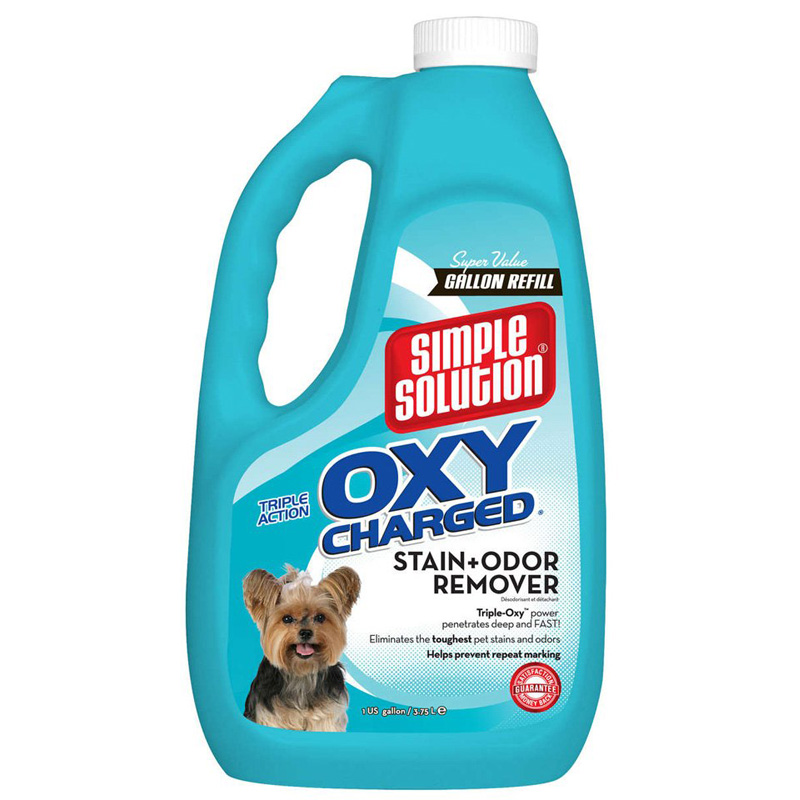Simple Solution® Oxy Charged Staine & Odor Remover Simple Solution 1Gal I012864