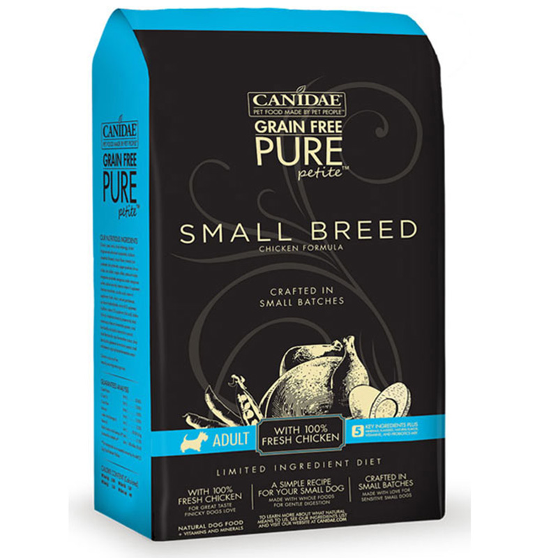 Canidae Grain Free Pure Petit Small Breed Chicken Dog Food I012957b