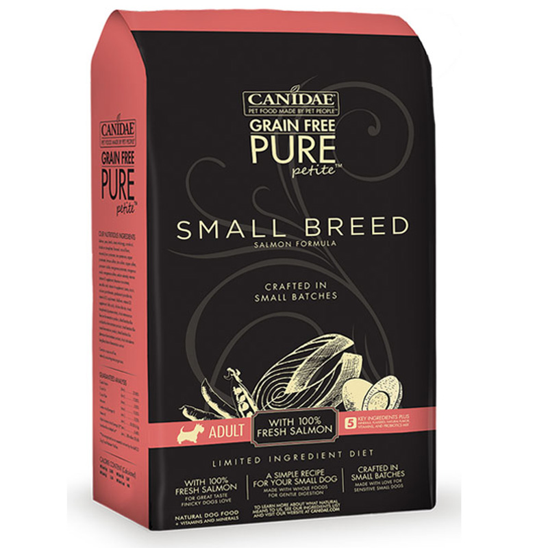 Canidae Grain Free Pure Petit Small Breed Salmon Dog Food I012960b