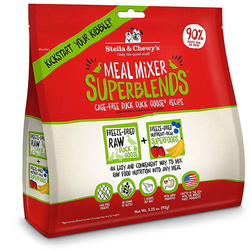 Stella and Chewy's SuperBlend Duck 3.5oz  I012968