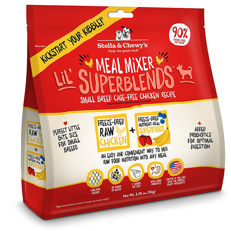 Stella & Chewy's® Meal Mixer Lil SuperBlend™ Chicken 3.25 oz. I012969