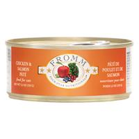 Fromm 4 Star Dinner Chicken and Salmon Wet Cat Food 5.5oz.
