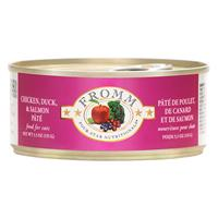 Fromm 4 Star Dinner Chicken and Duck and Salmon Wet Cat Food 5.5oz.