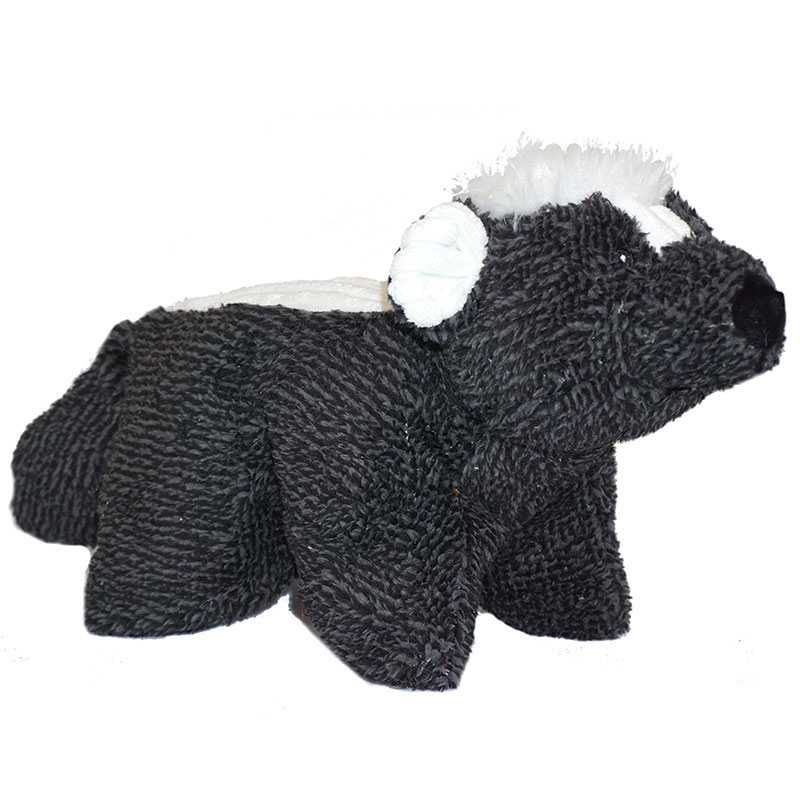 HuggleHounds® Knot-Less Squooshie Skunk I013158