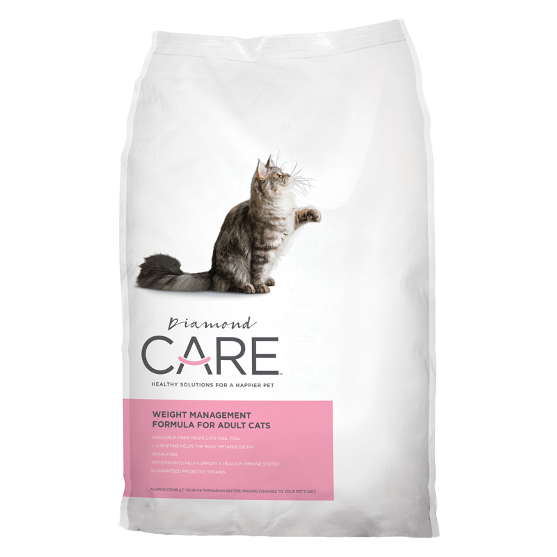 Diamond CARE Weight Management Formula for Adult Cats 6 lbs. I013280