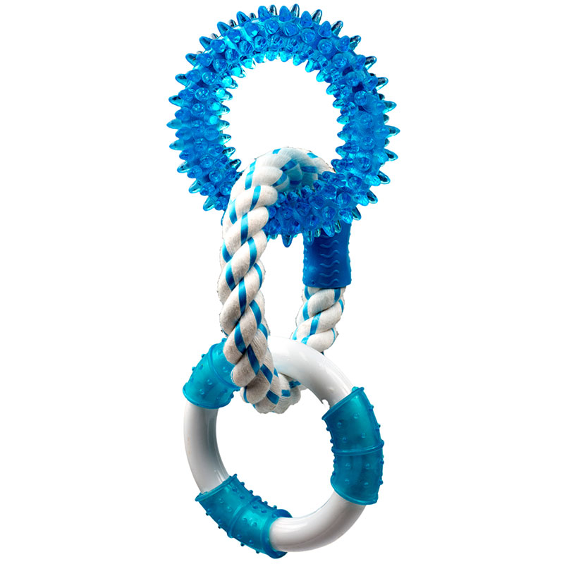 "Canine Clean Peppermint with 3 Rings 11"" I013292"