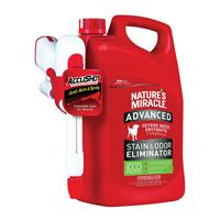 Nature's Miracle Advanced Dog Stain and Odor Eliminator AccuShot 1.33 Gallon I013308