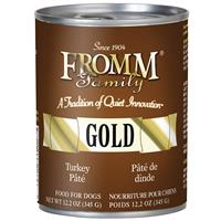 Fromm Gold Turkey Pate Wet Dog Food 12.2oz.