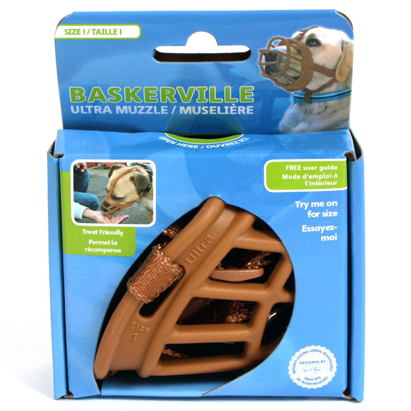 Baskerville Ultra Muzzle Tan  I013369