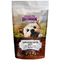 Holistic Health Extension Bully Puff Lamb and Peanut Butter Dog Treats 5oz I013444