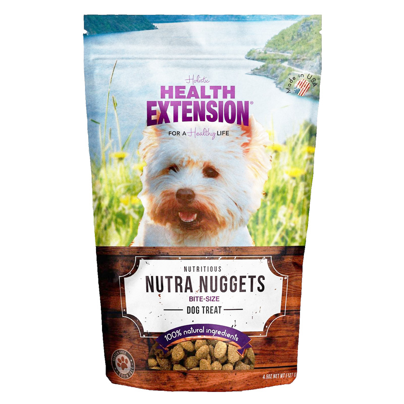 Health Extension Nutra Nuggets Dog Treat 6 oz I013447