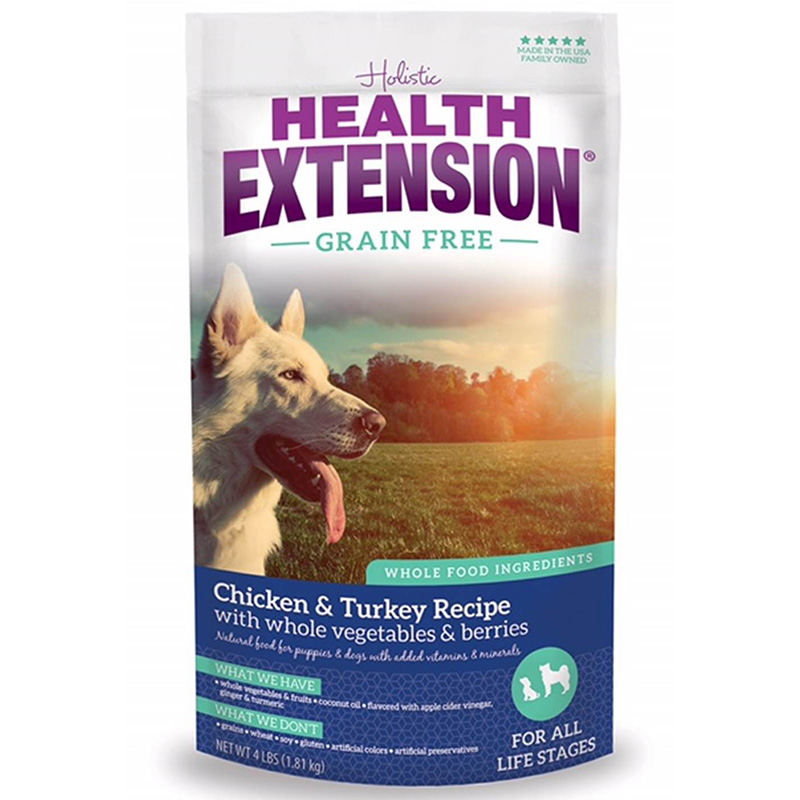 Holistic Health Extension Grain Free Chicken/Turkey Dog Food I013450b