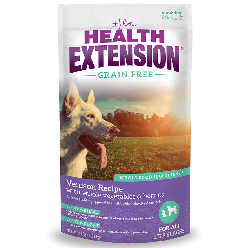 Holistic Health Extension Grain Free Venison Dog Food I013462b