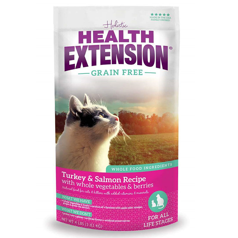 Holistic Health Extension Grain Free Turkey/Salmon Cat Food I013465b