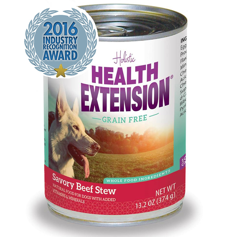 Holistic Health Extension Grain Free Beef Stew Dog Food 13.2oz