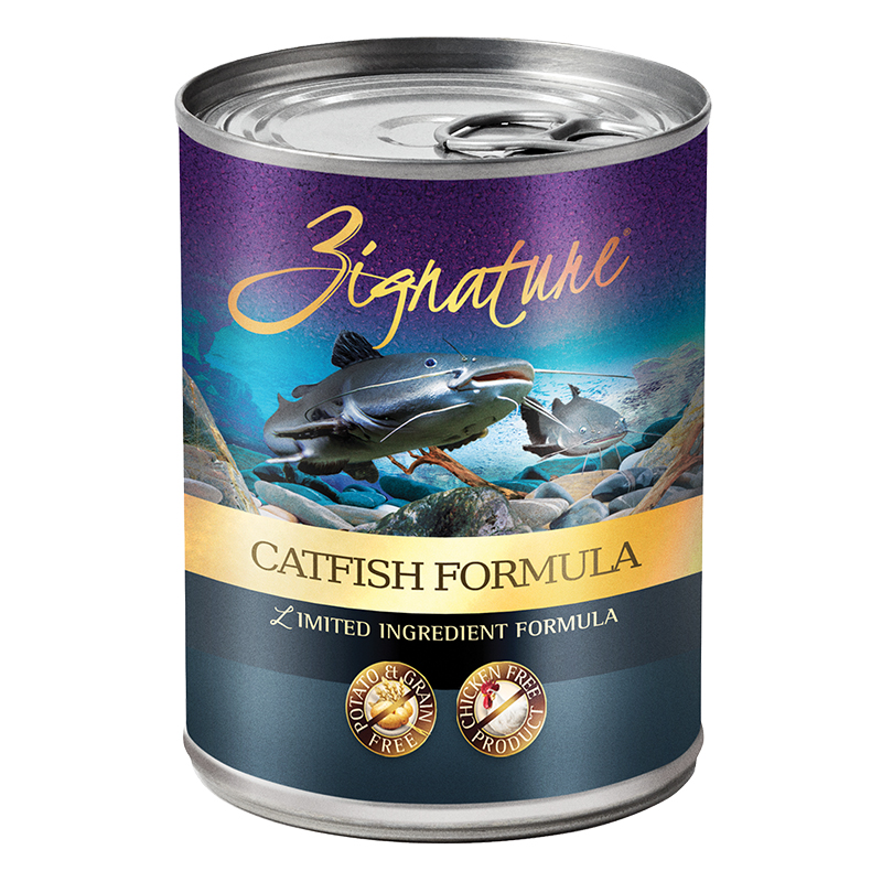 Zignature Catfish Limited Ingredient Dog Food Can 13 oz I013610