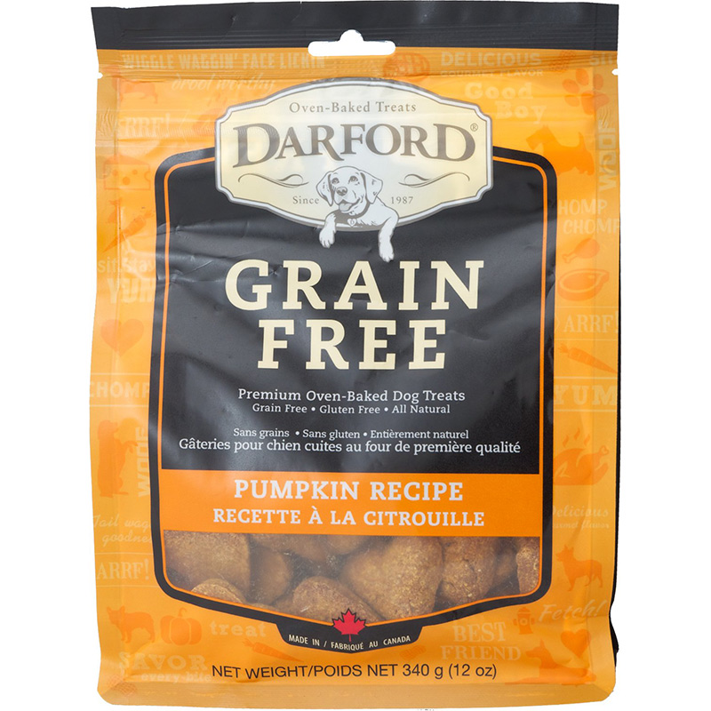 Darford Grain Free Pumpkin Recipe Dog Biscuit 12 oz.  I013612