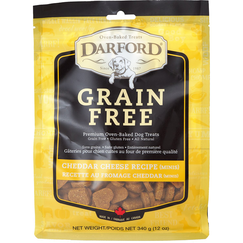 Darford Grain Free Cheddar Cheese Minis Dog Biscuit 12 oz. I013616