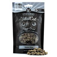 Vital Essentials Freeze Dried Cat Rabbit Bites .9 oz. I013620