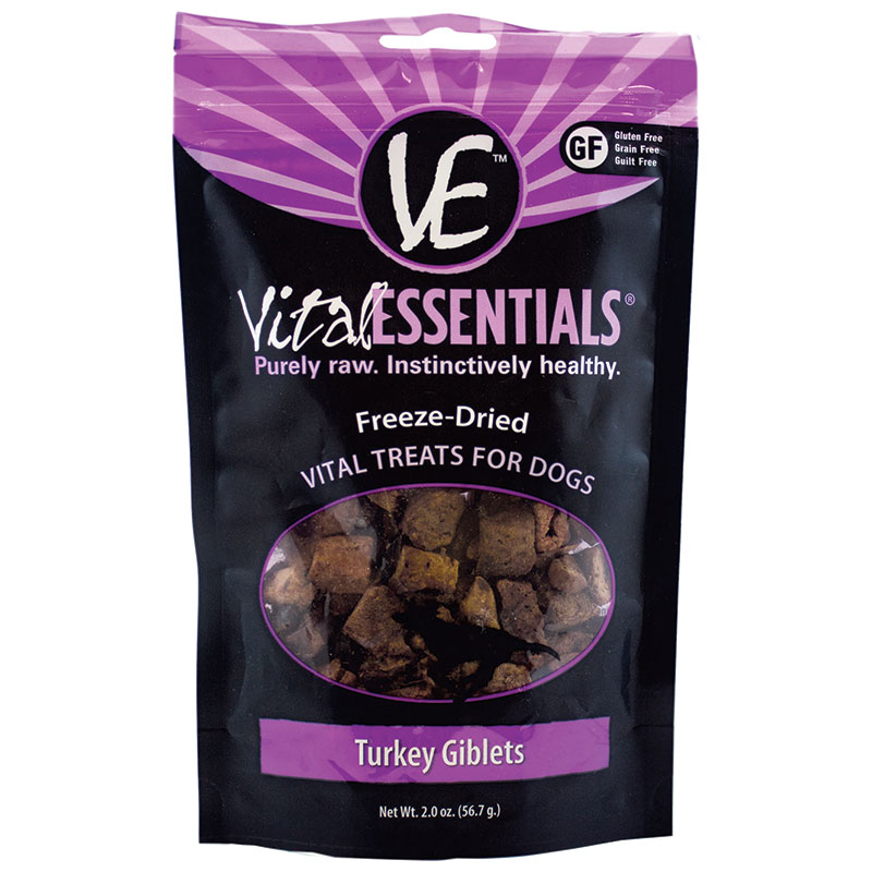 NEW! Vital Essentials™ Freeze Dried Turkey Giblet 2 oz. I013629
