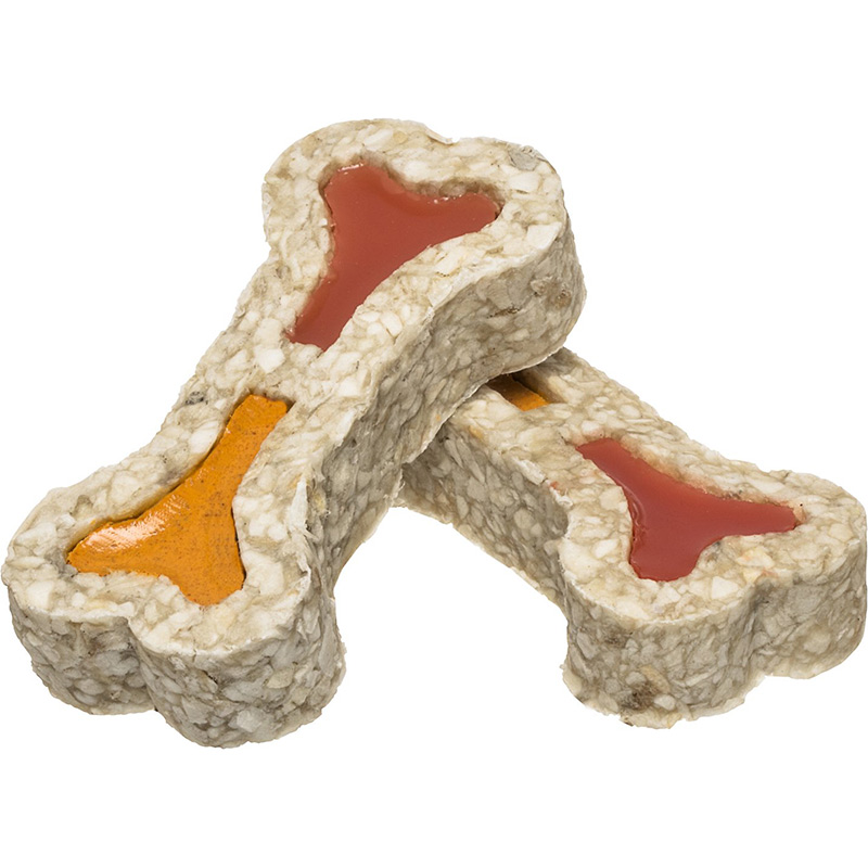 Redbarn Ham & Cheese Fille Rawhide Bone I013691
