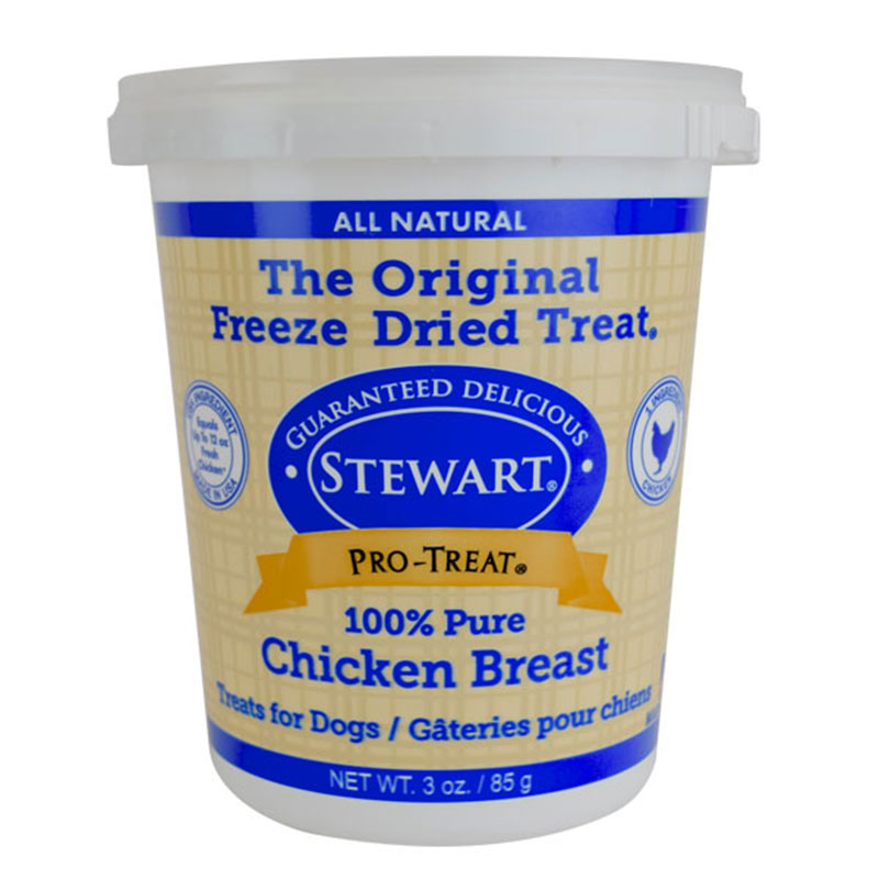 Stewart Pro-Treat Freeze Dried Chicken Breast I013722b