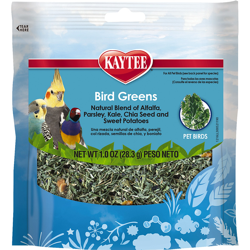 Foraging Treat Bird Greens - All Birds W/Chia & Sweet Potato 1oz I013733