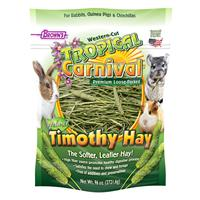 FM Brown's Tropical Carnival Natural Loose Timothy Hay 96 oz. Bag