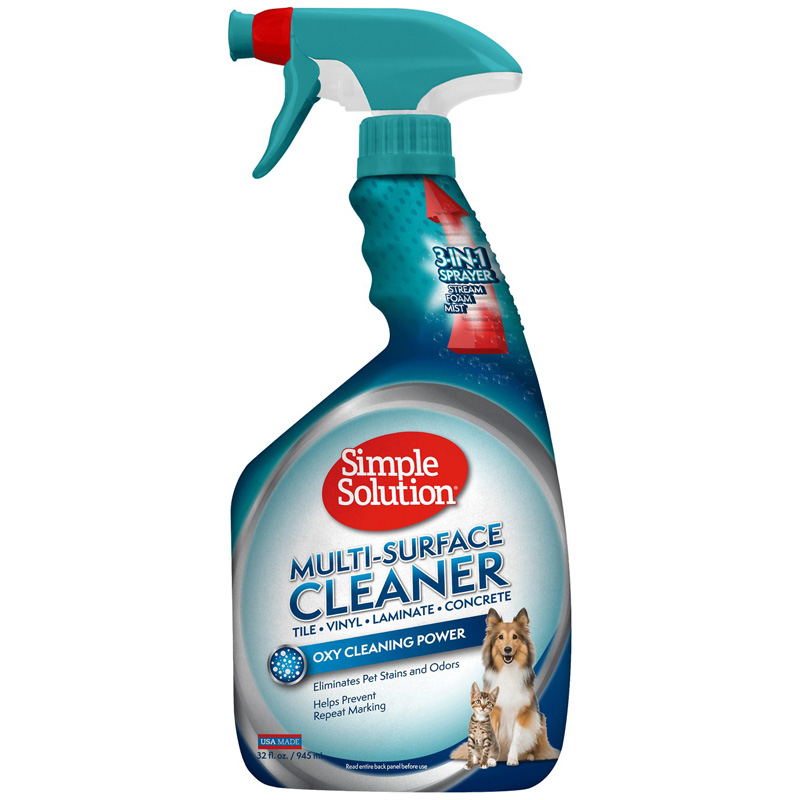 Simple Solution® Multi-Surface Cleaner Spray 32oz I013867