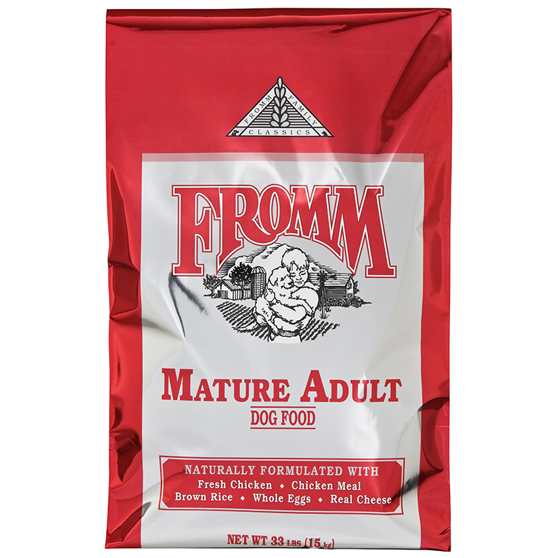 Fromm Classic Mature Adult Dog Food 33lbs.