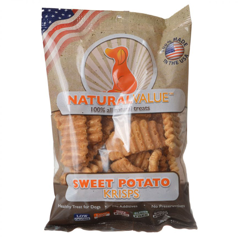 Loving Pets Natural Value Sweet Potato Krisps 2.5 oz I013892