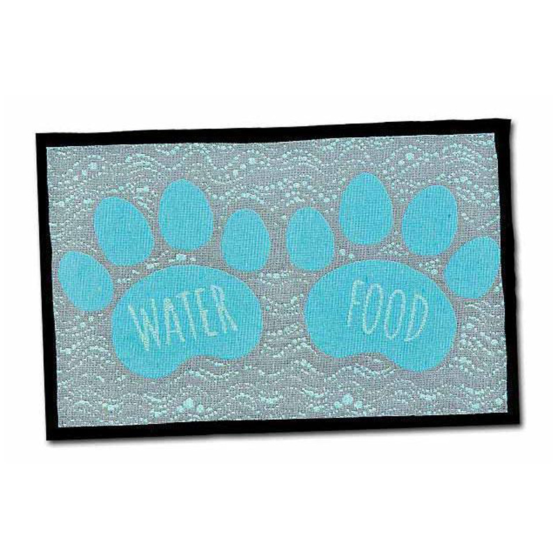Loving Pets Bella Fashion Mat Food and Water  I013900