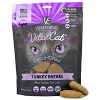 Vital Essentials Feline Freeze Dried Mini Patties Turkey 10.5 oz. I013960