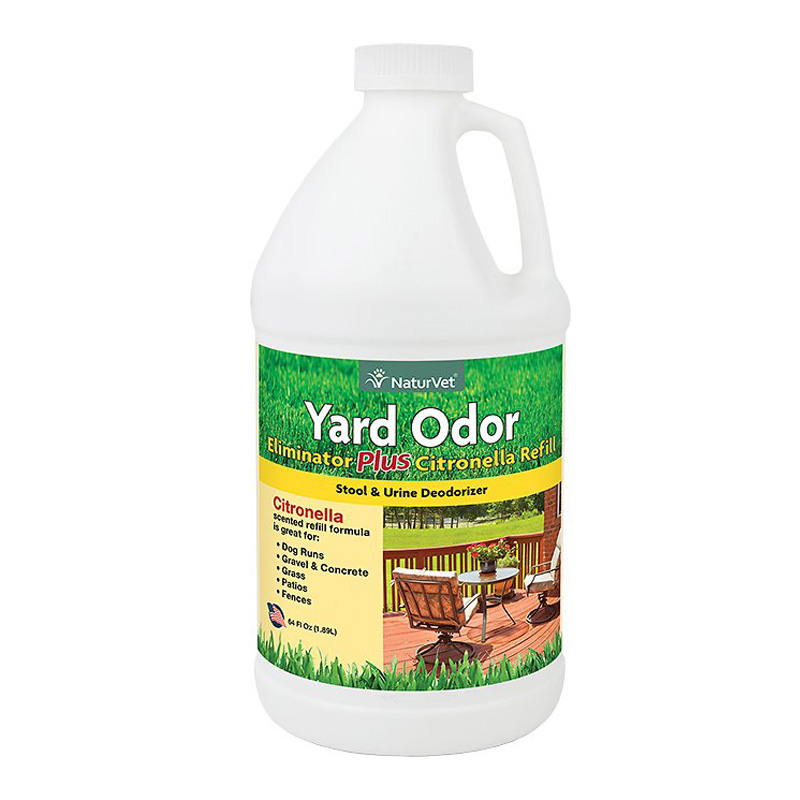 NaturVet Yard Odor Eliminator Plus Citronella 64 oz. I013971