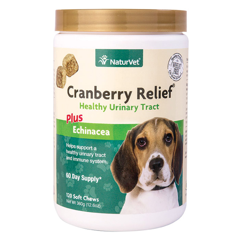 NaturVet® Cranberry Relief Plus Echinacea Healthy Urinary Tract for Dogs I013973