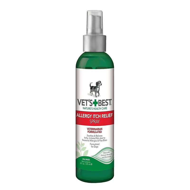 Vet's + Best Allergy Itch Relief Spray 8 oz  I013986