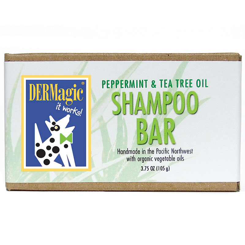 DERMagic Peppermint/Tea Tree Shampoo Bar 3.5oz I014007