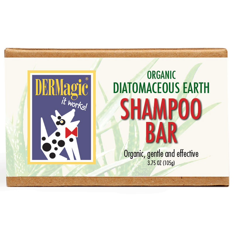 DERMagic Diatomaceous Earth Shampoo Bar 3.5oz I014024