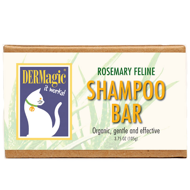 DERMagic Feline Rosemary Shampoo Bar 3.5oz I014027