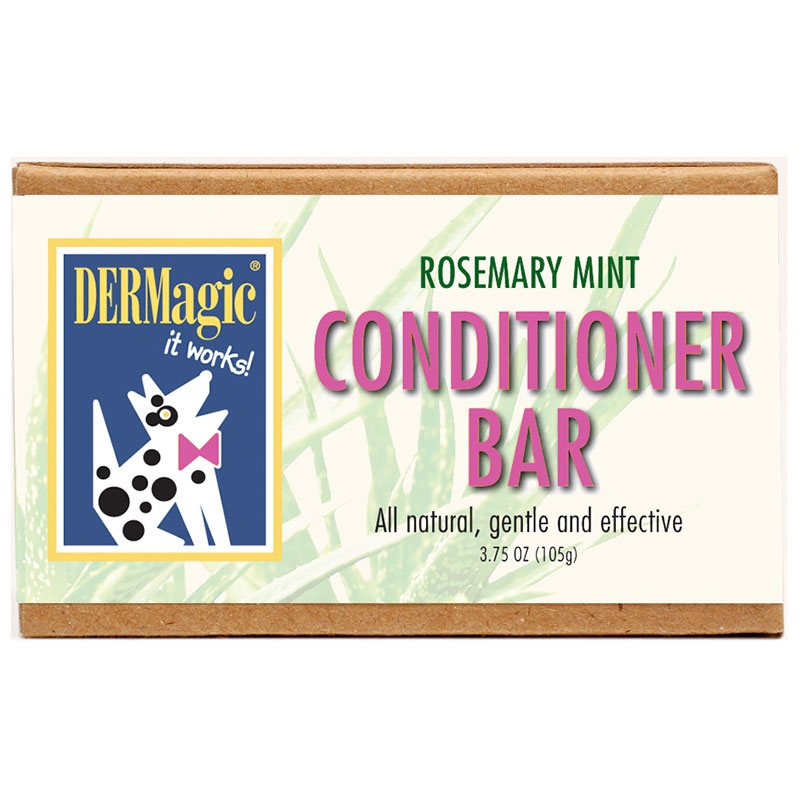 DERMagic Rosemary Mint Conditioner Bar 3.5oz I014030