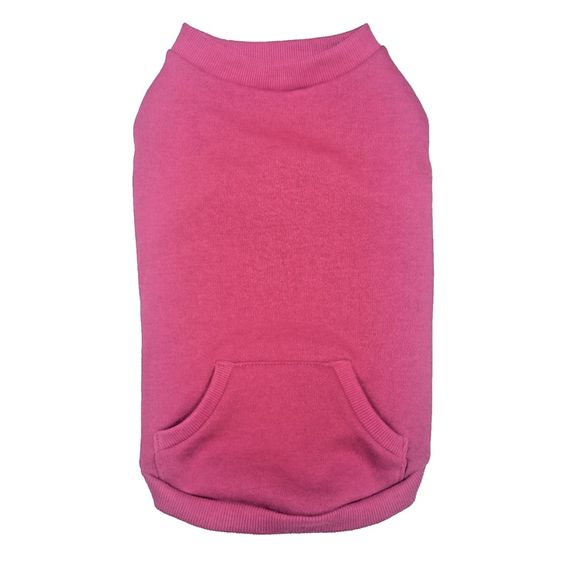 Ethical Pets Classic Sporty Crewneck Sweaters For Active Canines Pink I014169b