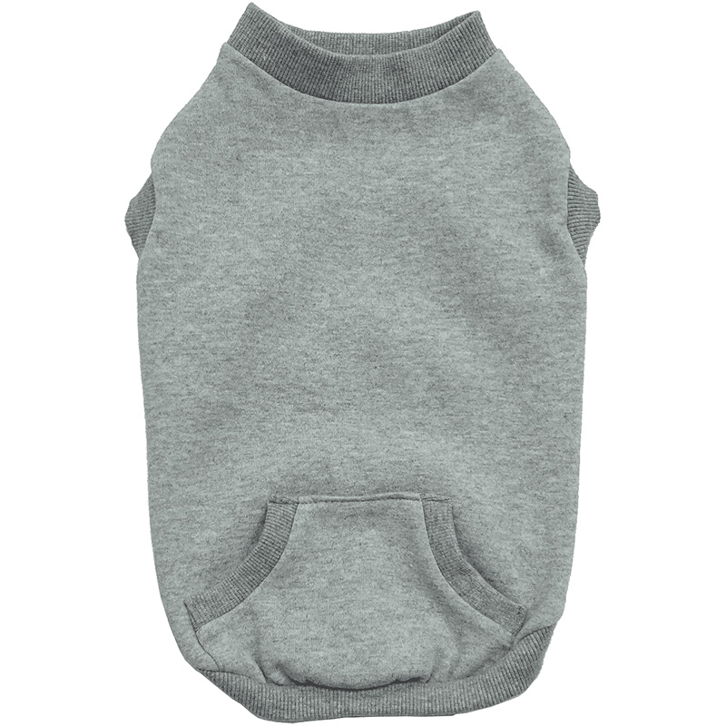 Ethical Pets Classic Sporty Crewneck Sweaters For Active Canines Gray I014172b