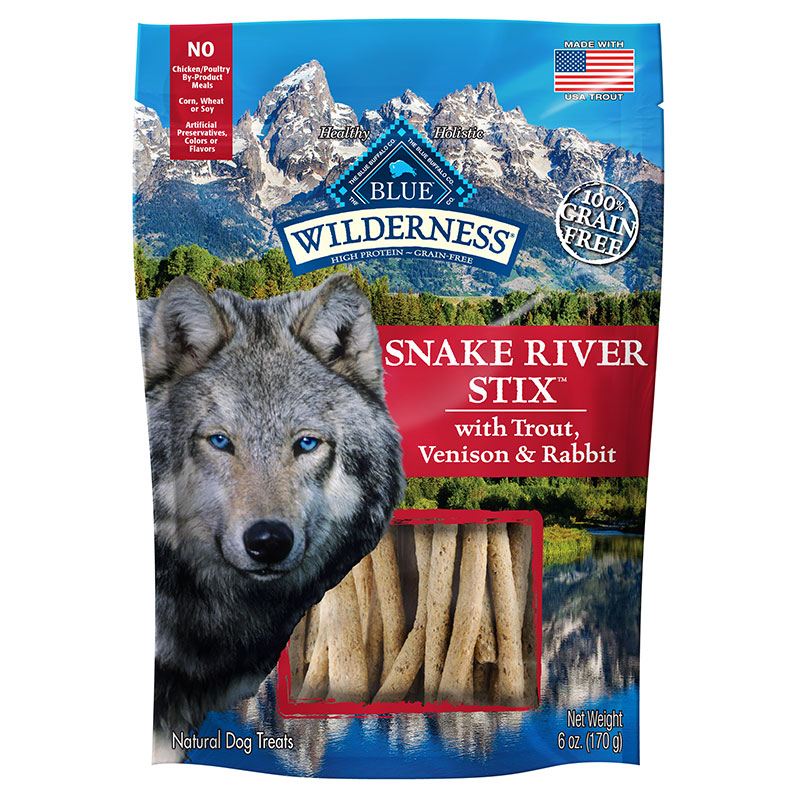Blue Buffalo Wilderness Snake River Grill Dog Treat 6oz I014199